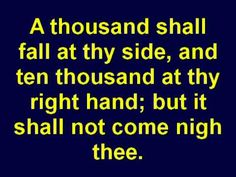 Psalm 91 - God's Protection For You - Holy Bible - Christian Scripture Video - KJV