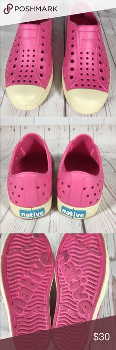 Native Jefferson Shoes Size 12 Child Toddler Native Jefferson Shoes Size 12 Child Toddler Native Shoes Water Shoes