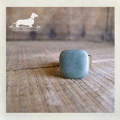 Jade Adjustable Ring by PickleDogDesign on Etsy, $8.00