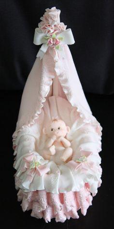 Bebé ducha pastel Topper decoración de la ducha del bebé