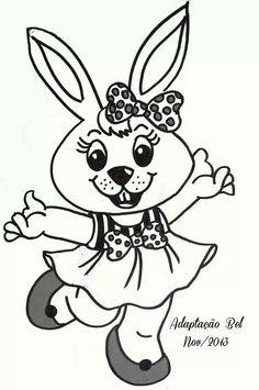 Coelhinha vestido