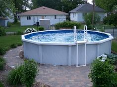 Pool fencings are perfect for personal privacy in addition to protection. However you can still take pleasure in developing your pool fence. Here are 27 Impressive pool fence ideas! Above Ground Pool Landscaping, Backyard Pool Landscaping, Swimming Pools Backyard, Pool Decks, Backyard Ideas, Small Above Ground Pool, Above Ground Swimming Pools, In Ground Pools, Stone Around Pool
