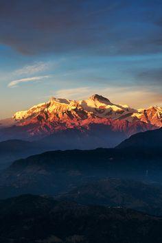 nepal: beautiful-avalanche: Nepali Himalayan Range by Marcellian Tan Stunning.