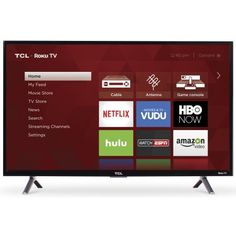 "Refurbished TCL 32"" Class HD (720P) Roku Smart LED TV (32S305)"