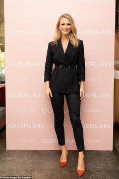 Anna Heinrich attends the Guerlain Launch in Sydney Anna Heinrich, Sydney, Leather Pants, Product Launch, Celebrity, Glamour, Style Inspiration, Outfits, Fashion