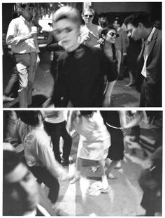"""Factory Party"", Edie Sedgwick, Andy Warhol, Unidentified Guests, photos by Stephen Shore, NYC 1965"