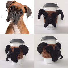 The crochet pattern for the Boxer cozy is in the testing pool. Get your hooks ready. It will be available soon!!