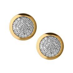 Links Of London Diamond Essentials Gold Earrings | Peter Jackson