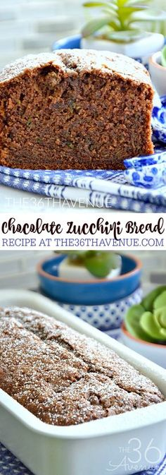 Zucchini Bread just got better with a bit of cocoa! The first time I tried this…
