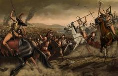 MODERN: 2010: Last charge of the Amazons by zpapageo