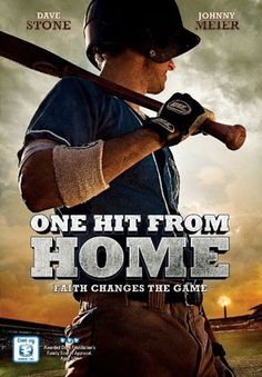 One Hit From Home - DVD | Faith changes the game | $11.92 at ChristianCinema.com