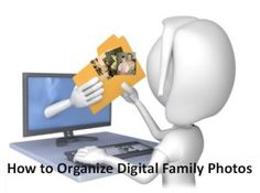 "I love Denise Levenick's ""getting started"" strategies for digital photo organization in the free May 2015 Family Tree Magazine podcast. I have thousands of digital photos on my computer–and that's just from the past few years! Click here for great tips."