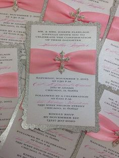 Baptism Invitation Christening Invitation by PlaceOfEvents on Etsy: