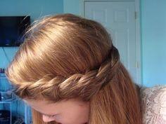 'French Twist' Hair Tutorial