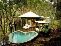 I want a very small but luxurious house