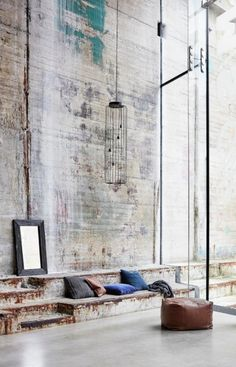 Vintage Industrial Design Ideas For Your Loft Design Industrial, Vintage Industrial Decor, Industrial Living, Industrial Interiors, Industrial Chic, Kitchen Industrial, Kitchen Wood, Room Kitchen, Industrial Bedroom