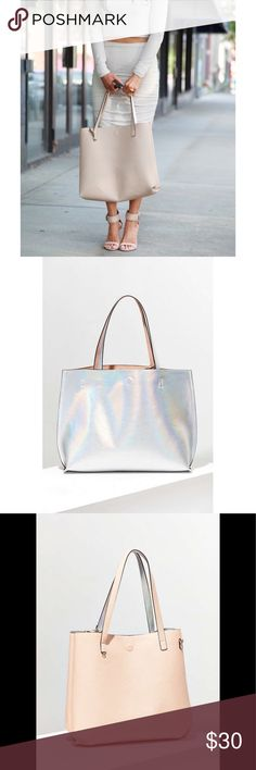 54b9e0c02fa8 Street Level Vegan Leather Reversible Tote Bag New without tags. Bought for  72  at
