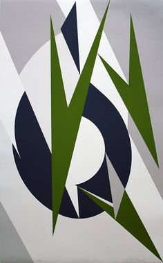Lee Krasner - Embrace, Geometric Abstract Silkscreen by Lee Krasner Pollock 1974 Lee Krasner, Ouvrages D'art, Joan Mitchell, Contemporary Abstract Art, Modern Art, Helen Frankenthaler, Abstract Print, Abstract Paintings, Abstract Expressionism
