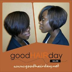 Bob   Relaxed Styles, Natural Styles, Keratin Treatments, Custom Color, Precision Cuts, Book online!  www.goodhairday.net