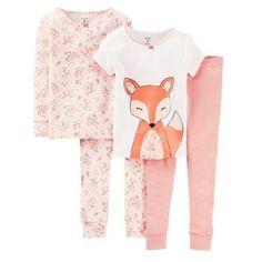 Carter's Fox Pajama Set - Baby-  $23