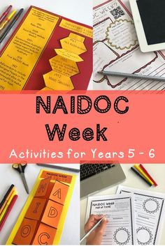 These NAIDOC Week activities for kids are ideal for lesson ideas and meaningful tasks for students about NAIDOC Week. Suitable for students in Year 5 & Year 6. Activities are about celebrating the history, culture and achievements of Aboriginal and Torres Strait Islander people in Australia {Grade 5, Grade 6, homeschool} #rainbowskycreations