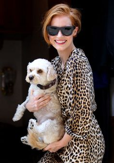I LOVE Jessica Chastain's New Short Haircut! Anyone With Me?