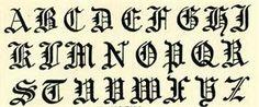 Free vintage alphabet letters images download