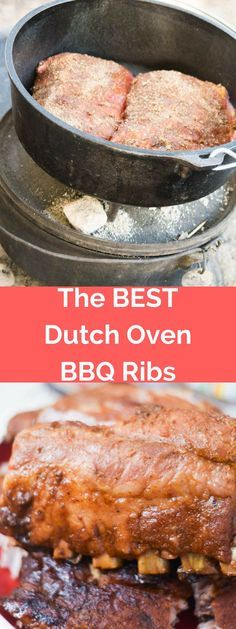 The Best Dutch Oven Ribs Recipe / Dutch Oven Ribs / Dutch Oven Baby Back Ribs / Dutch Oven BBQ Ribs / Dutch Oven Recipes / BBQ Spice Rub / Ribs Recipe / Best Ribs Recipe / Easy Ribs Recipe