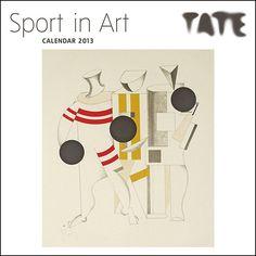 Sport in Art 2013 Wall Calendar