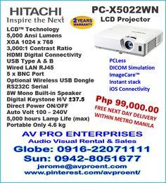 10 Best Hitachi Projectors images | Movie projector