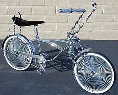 Lowrider Bicycle new beach bike. Going to build this winter.