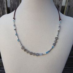 Labradorite Aquamarine Pearl and Sterling by EastVillageJewelry, $50.00 Handcrafted jewelry ~ Free U.S. shipping www.eastvillagejewelry.etsy.com