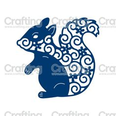 Tattered Lace Dies - Squirrel: