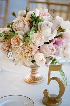 Gorgeous Wedding Table Number Ideas - MODwedding