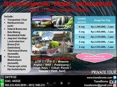 Jual beli Paket Wisata Bromo - Batu Malang - Air Terjun Madakaripura 3D2N di Lapak Huni_Raya - bromo_raya. Menjual Travel & Hiburan - Menikmati Liburan Seru ke Bromo, Batu Malang plus Air Terjun Madakaripura bersama teman atau keluarga adalah pengalaman yang sangat menakjubkan, Paket Bromo  Batu Malang - Air Terjun Madakaripura (3H2M) yang kami tawarkan adalah paket wisata 3 lokasi yang berbeda dalam 1 paket. Paket ini adalah solusi untuk para wisatawan luar daerah yang memiliki wakt...
