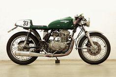 '78 Kawasaki KN400 – Jochen Guske   Trust Me I'm A Biker Please Like Page on Facebook: https://www.facebook.com/pg/trustmeiamabiker Follow On pinterest: https://www.pinterest.com/trustmeimabiker/