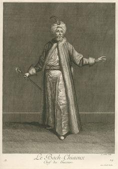 Başçavuş, head of the ushers in the Sultan's palace.