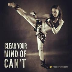 Clear your mind of can't | 9Round in Northville, MI is a 30 minute full body workout with no class times and a trainer with you every step of the way! Visit www.9round.com/fitness/Northville-Michigan or call (734) 420-4909 if you want to learn more!