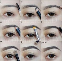 So I wanted to add another brow tutorial from someone who had a little more hair than my previous pin. I searched for a long time because as we all know how brows are the new thing as it draws attention to your face first. You want to be sure it is on point while not looking like you used a ball point pin to draw or fill them in . Ladies let's be real. Keep the brows light and natural! I hope this post helps in some way.