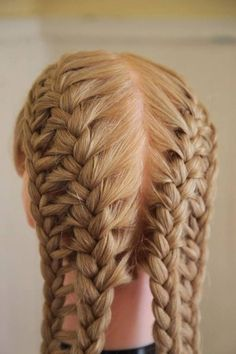 Creative ladder braid hairstyle. #Hairstyle ....For more tips visit - http://www.diyworthy.com/