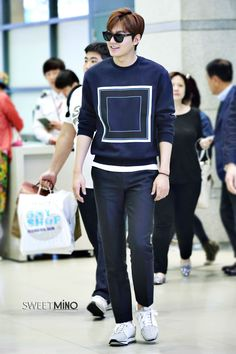 Lee Min Ho | Incheon Airport 150425