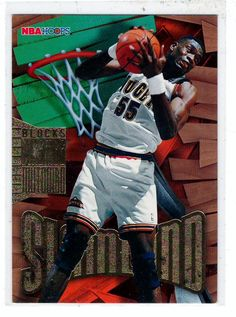 Sports Cards Basketball - 1996 NBA Hoops Dikembe Mutombo