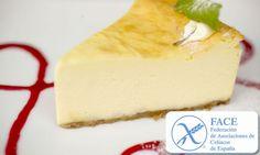 Receta de Tarta de queso para celíacos (sin gluten)