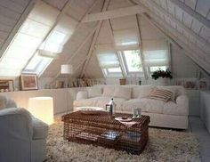Cozy bedrooms and attic rooms