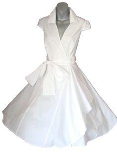 Robe de Soiree ,Vintage Rockabilly style,Retro Années 50, Blanche, Jupe, Swing,Pin up ,Parfaite Pour Soiree Dansante Taille 34-50 (34) Look for the stars http://www.amazon.fr/dp/B00L385W92/ref=cm_sw_r_pi_dp_CPcVtb0Y2TC9EN1S