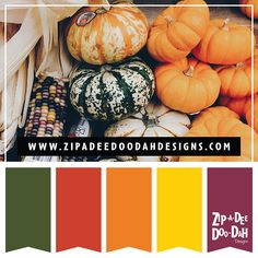 Color Palette: Fall