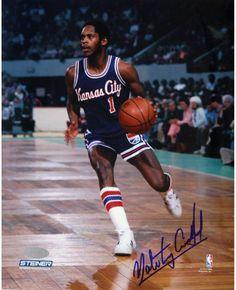 Nate Archibald Kansas City Kings Against Boston Celtics Signed 8x10 Photo