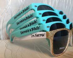 EVJF occhiali da sole per il vostro di GreenBridalBoutique su Etsy