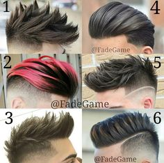 Fadegame - Choose Your Favorite Number Haircut - DIY & Crafts Cool Hairstyles For Men, Haircuts For Men, Undercut Hairstyles, Hairstyles Haircuts, Hair And Beard Styles, Short Hair Styles, Gents Hair Style, Hair Today, Hair Cuts