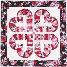 14 Valentine Quilt Patterns & Project Ideas